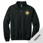 995Y - H283 - EMB - Youth 1/4 Zip Pullover