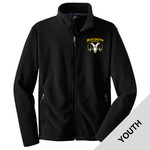 Y217 - H283-S3.0-2017 - EMB - Youth Fleece Jacket